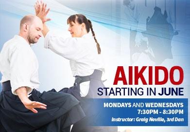 World Martial Arts Academy - Aikido in June - Program-min